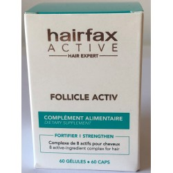 HAIRFAX FOLLICLE ACTIV SUPLEMENT Cynk, Miedź i Biotyna